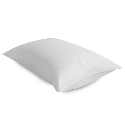 Comfort Goose Down Pillow Bed Size: King