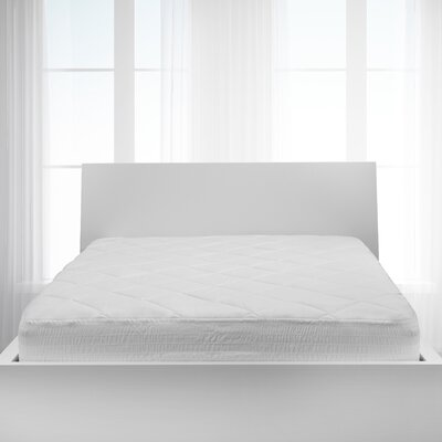 Classic Polyester Mattress Pad Bed Size: King