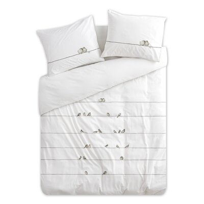 Pinner 100% Cotton 2 Piece Duvet Set Size: Queen