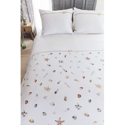 Pickering 100% Cotton 3 Piece Duvet Set Size: King