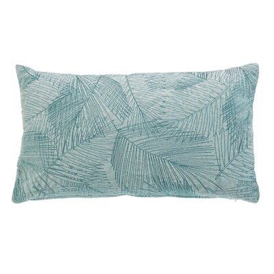 Anand Palm Cotton Lumbar Pillow