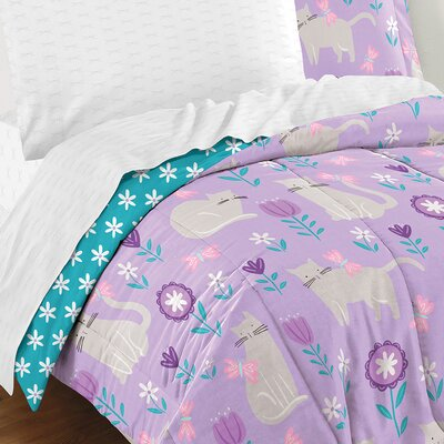 Lupe 5 Piece Reversible Bed In a Bag Set Size: Twin