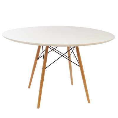 Katya Round Dining Table Size: 30 H x 48 W x 48 D