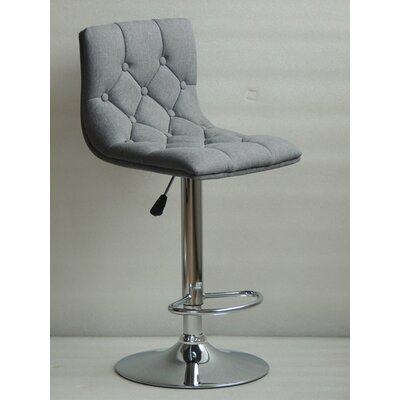 Ahart Adjustable Height Swivel Bar Stool