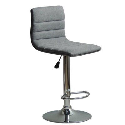 Jing Adjustable Height Swivel Bar Stool