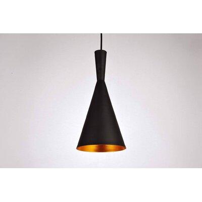 Remillard 1-Light Mini Pendant Finish: Black