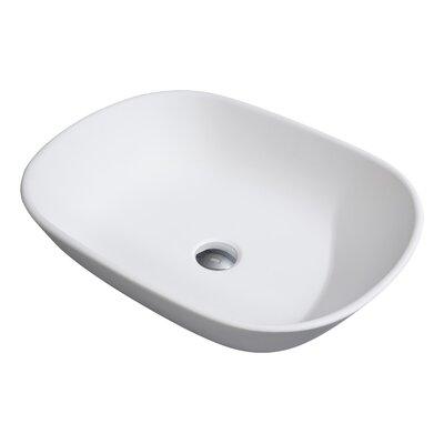 Silverwood Stone Oval Vessel Bathroom Sink