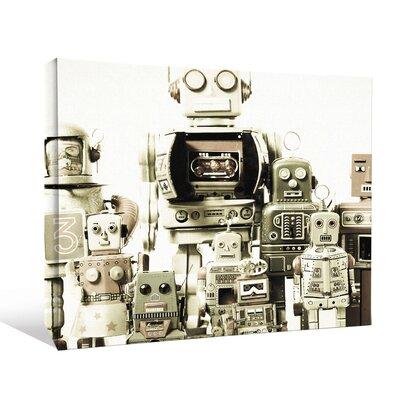 'Kids Robots Toys Scifi Fantasy' Graphic Art Print CNV2358