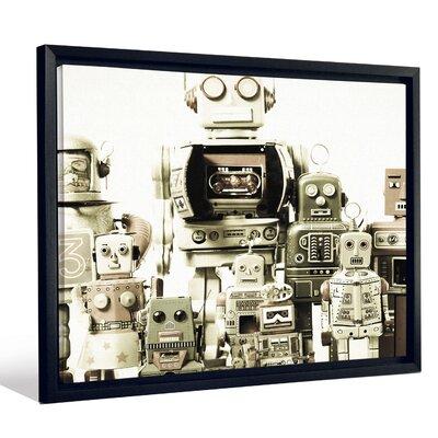 'Kids Robots Toys Scifi Fantasy' Graphic Art Print FCNV2358