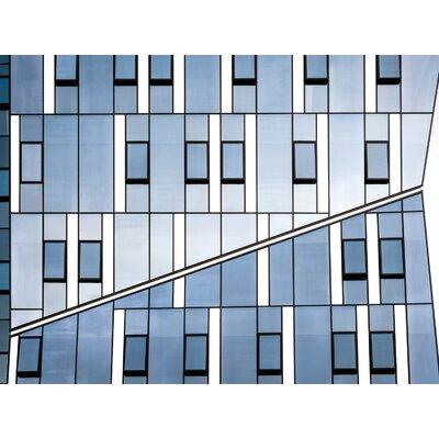 'Nir Blatt Crossingdeco Geometric Glass' Graphic Art Print MACR1X806266