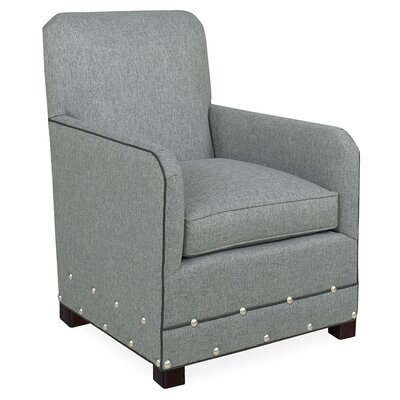 Diehl Armchair Fabric: Fabric - Louis Dim Gray