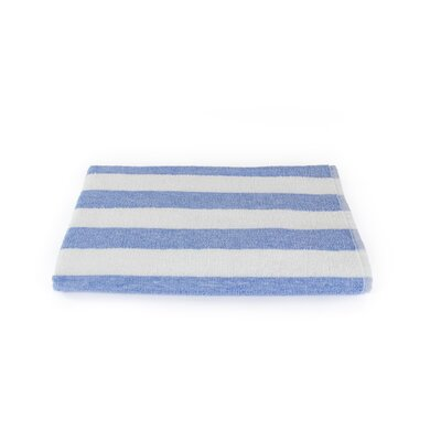 Stripe Beach Towel Color: Porcelain Blue