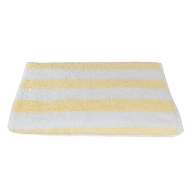 Rectangle Stripe Beach Towel Color: Sandstone