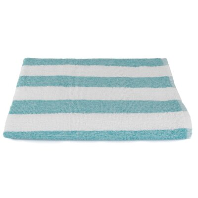 Stripe Beach Towel Color: Teal