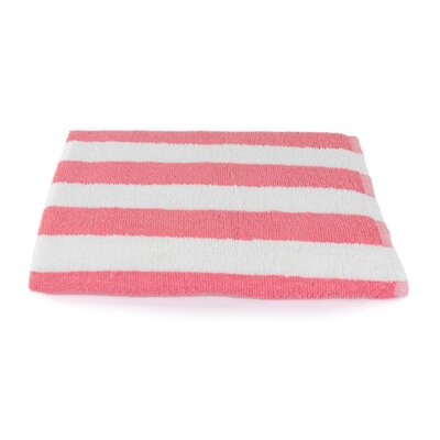 Stripe Beach Towel Color: Coral