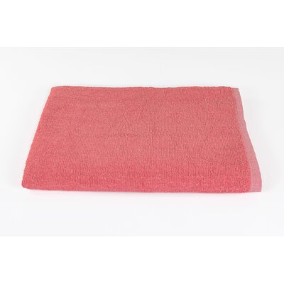 Solid Beach Towel Color: Coral