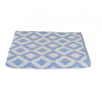 Diamond Beach Towel Color: Porcelain Blue