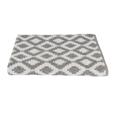 Diamond Beach Towel Color: Gray