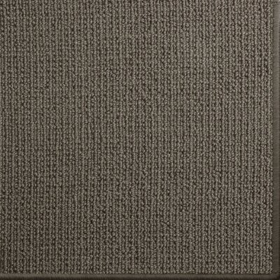 Pamela Wool Dark Brown Area Rug Rug Size: 6 x 9