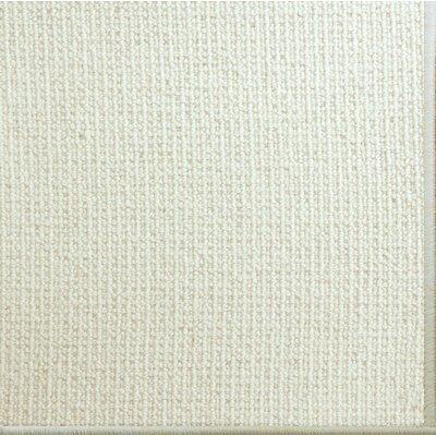 Pamela Wool Ivory Area Rug Rug Size: 6 x 9