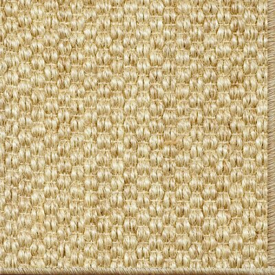 Parisot Machine Woven Wheat Area Rug Rug Size: Runner 26 x 9