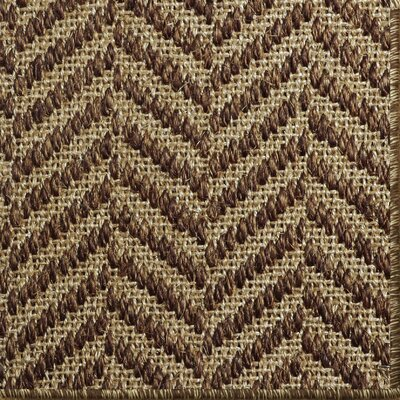 Paige Brown Area Rug Rug Size: 9 x 12