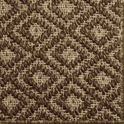 Palmyre Brown/Beige Area Rug Rug Size: 10 x 14