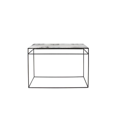 Heavy Aged Mirror Console Table TGN-020747