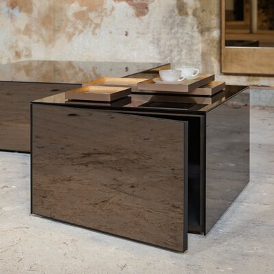 Cube Mirror Coffee Table TGN-020736