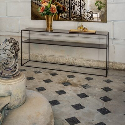 Heavy Aged Mirror Console Table TGN-020748