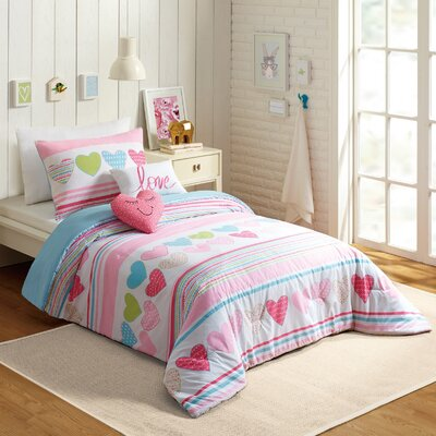 Glen 4 Piece Twin Comforter Set