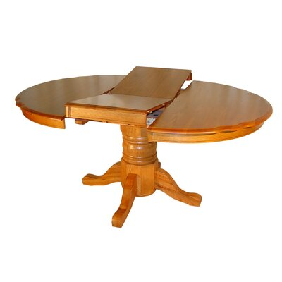 Tyrell Solid Oak Butterfly Extendable Dining Table