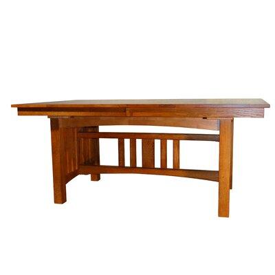 Taj Solid Oak Mission Dining Table