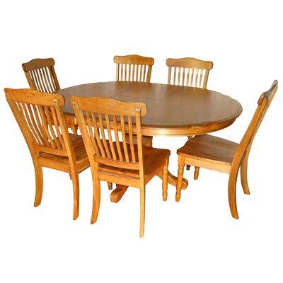 Aldwin 7 Piece Extendable Dining Set