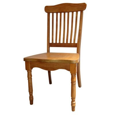 Tyrell Bent Spindle Back Solid Wood Dining Chair