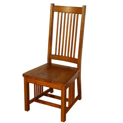 Taj Spindle Back Mission Solid Wood Dining Chair