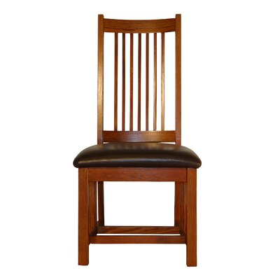 Jere Spindle Back Mission Upholstered Dining Chair