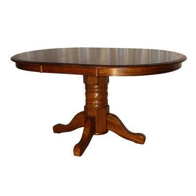 Stratton Solid Oak Extendable Dining Table