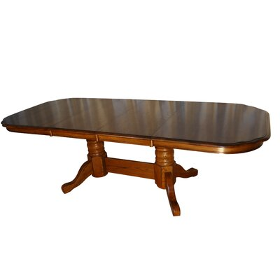 Templepatrick Solid Oak Extendable Dining Table