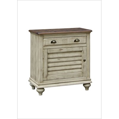Wilfred 1 Door 1 Drawer Nightstand