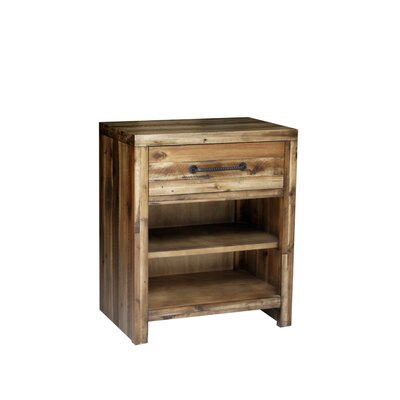 Camilo Solid Wood Nightstand