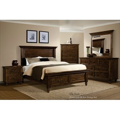 Desirae Panel Headboard Size: King
