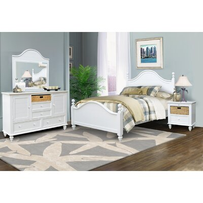 Emelia Panel Headboard Size: King