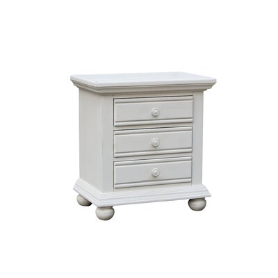 Laguna 3 Drawer Nightstand