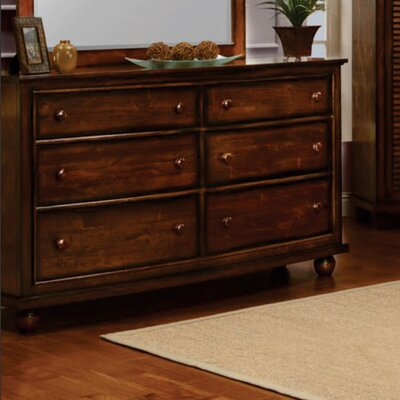 Jamarais 6 Drawer Dresser