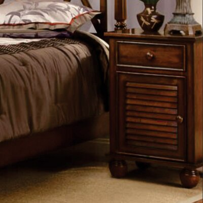 Jamarais 1 Door 1 Drawer Nightstand