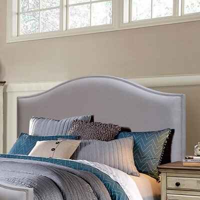 Wilfred Upholstered Panel Headboard Size: Queen