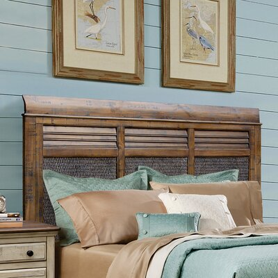 Wilfred Sleigh Headboard Size: Queen