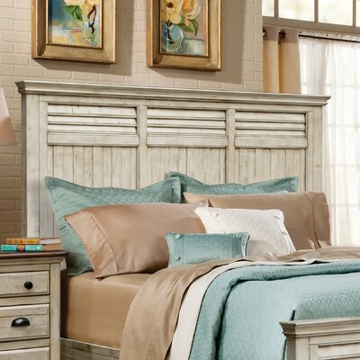 Wilfred Panel Headboard Size: King