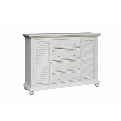 Laguna High 4 Drawer Dresser